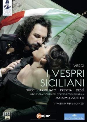 Rent I Vespri Siciliani: Teatro Regio di Parma (Zanetti) Online DVD Rental