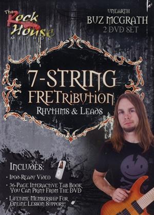 Rent Buz McGrath 7 String Fretribution Rhythms and Leads Online DVD Rental