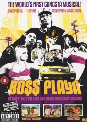Rent Snoop Dogg: Boss Playa: A Day in the life of Bigg Snoop Dogg Online DVD Rental