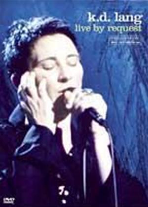Rent K.D. Lang: Live by Request Online DVD Rental