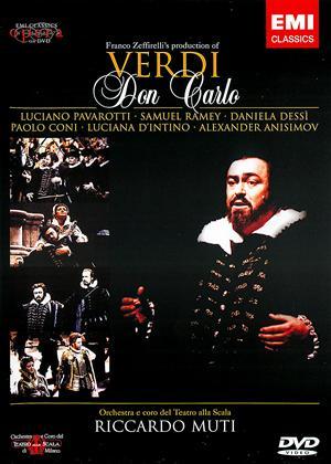 Rent Verdi: Don Carlo: La Scala Online DVD Rental