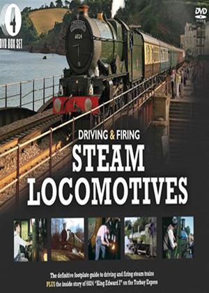 Rent Driving and Firing Steam Locomotives Online DVD Rental