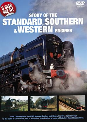 Rent Story of the Standard Southern and Western Engines Online DVD Rental