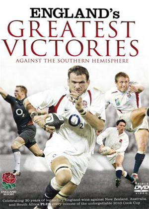 Rent England's Greatest Victories Against the Southern Hemisphere Online DVD Rental
