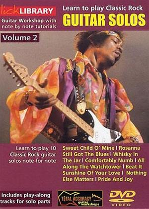 Rent Learn to Play: Classic Rock Guitar Solos: Vol.2 Online DVD Rental