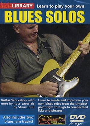 Rent Learn to Play: Your Own Guitar Blues Solos Online DVD Rental