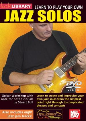 Rent Lick Library: Learn to Play Your Own Jazz Solos Online DVD Rental