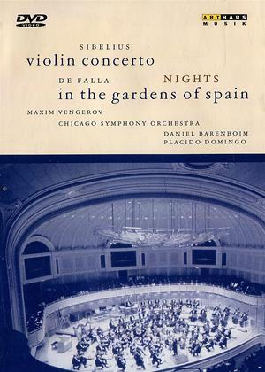 Rent Sibelius: Violin Concerto / De Falla: Nights in the Gardens of Spain Online DVD Rental