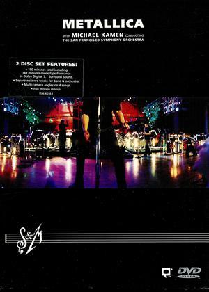 Rent Metallica: S and M Live Online DVD Rental