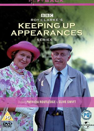 Rent Keeping Up Appearances: Series 5 Online DVD Rental