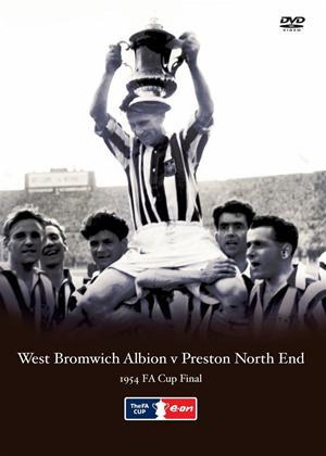 Rent West Bromwich Albion V Preston North End: 1954 FA Cup Final Online DVD Rental