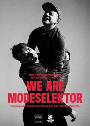 Rent Modeselektor: We Are Modeselektor Online DVD Rental