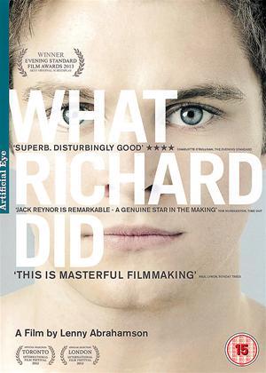 Rent What Richard Did Online DVD & Blu-ray Rental