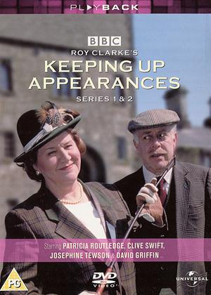 Rent Keeping Up Appearances: Series 1 and 2 Online DVD Rental