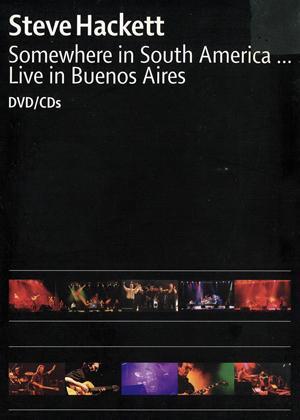 Rent Steve Hackett: Somewhere in South America Online DVD Rental