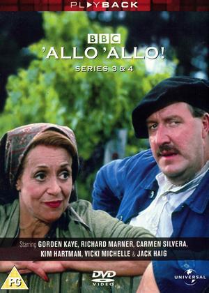 Rent Allo Allo: Series 3 and 4 Online DVD Rental