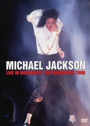 Rent Michael Jackson: Live in Bucharest: The Dangerous Tour Online DVD Rental