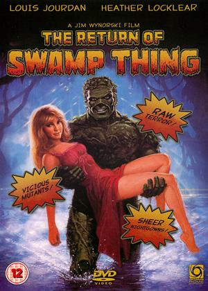 Rent The Return of Swamp Thing Online DVD Rental