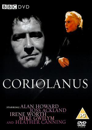 Rent BBC Shakespeare Collection: Coriolanus Online DVD Rental