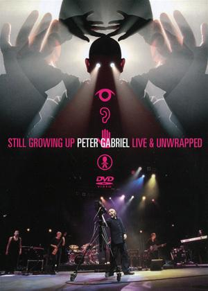 Rent Peter Gabriel: Still Growing Up: Live and Unwrapped Online DVD Rental