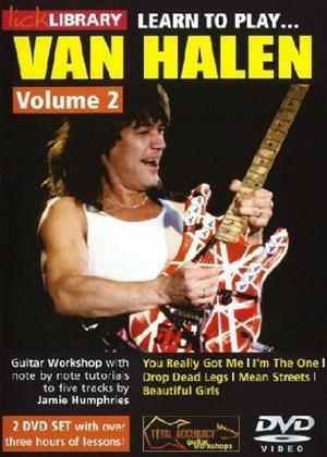 Rent Lick Library: Learn to Play Van Halen: Vol.2 Online DVD Rental