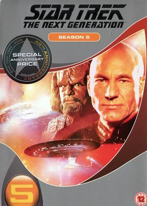 Rent Star Trek: The Next Generation: Series 5 Online DVD Rental