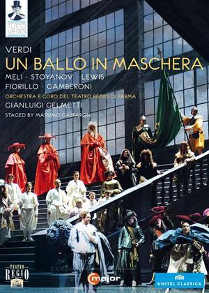 Rent Un Ballo in Maschera: Teatro Regio (Gelmetti) Online DVD Rental