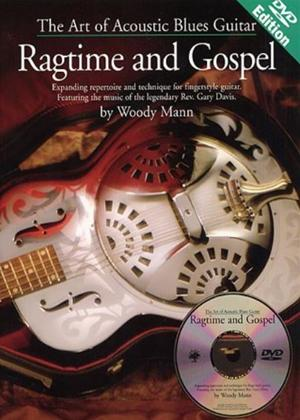 Rent The Art of Acoustic Blues Guitar: The Ragtime and Gospel Online DVD Rental