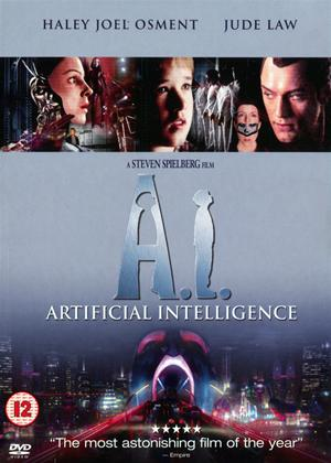 Rent A.I. Artificial Intelligence Online DVD Rental