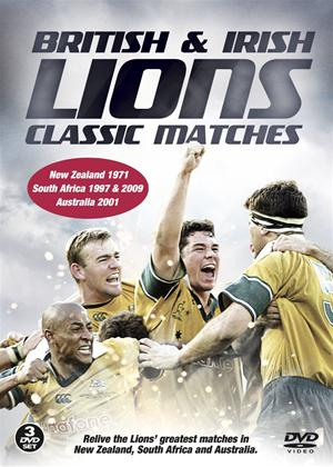Rent British and Irish Lions: Classic Matches Online DVD Rental