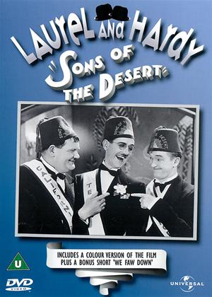 Rent Laurel and Hardy: Sons of the Desert Online DVD Rental