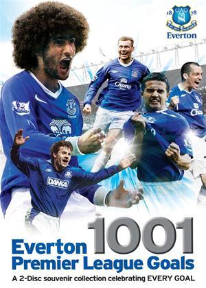 Rent Everton: 1001 Premier League Goals Online DVD Rental