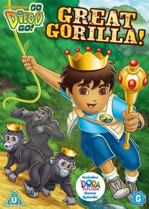 Rent Go Diego Go: Great Gorilla Online DVD Rental