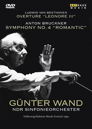 Rent Gunter Wand: Anton Bruckner Symphony No. 4: Romantic Online DVD Rental