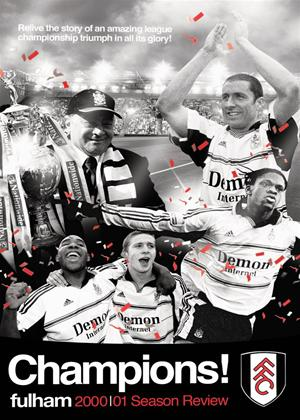 Rent Fulham FC: 2001 Season: Premiership Promotion Online DVD Rental