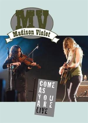 Rent Madison Violet: Come as You Are: Live Online DVD Rental