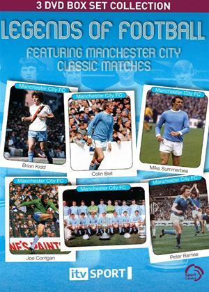 Rent Manchester City: Legends of Football: Classic Matches Online DVD Rental