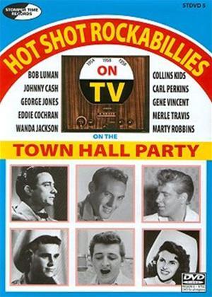 Rent Various Artists: Hot Shot Rockabillies on the Town Hall Parties Online DVD Rental
