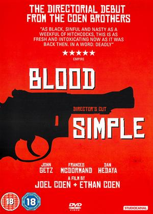 Rent Blood Simple: Director's Cut Online DVD & Blu-ray Rental