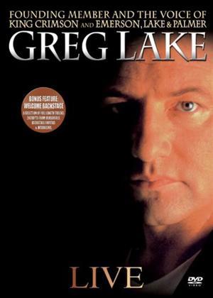 Rent Greg Lake: Live in Concert Online DVD Rental
