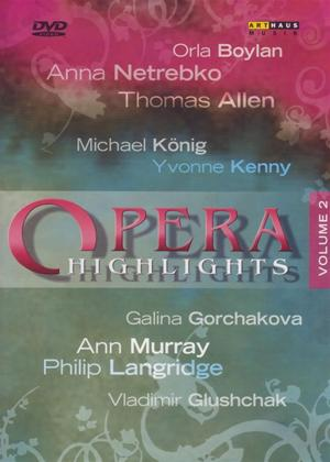 Rent Opera Highlights: Vol.2 Online DVD Rental
