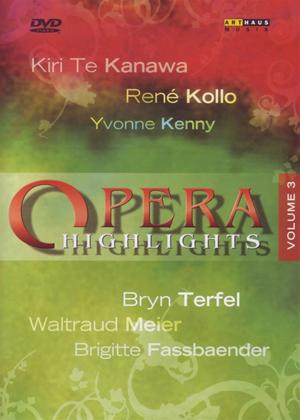Rent Opera Highlights: Vol.3 Online DVD Rental