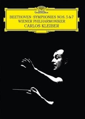 Rent Beethoven: Symphonies Nos. 5 and 7 (Carlos Kleiber) Online DVD Rental