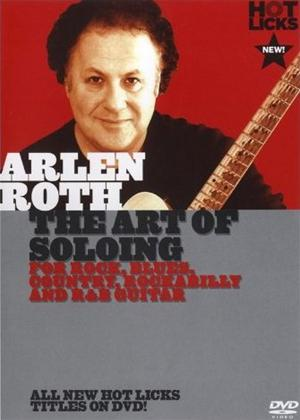 Rent Arlen Roth: The Art of Soloing Online DVD Rental