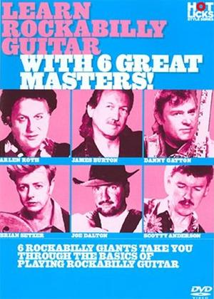 Rent Hot Licks: Learn Rockabilly Guitar with 6 Great Masters Online DVD Rental