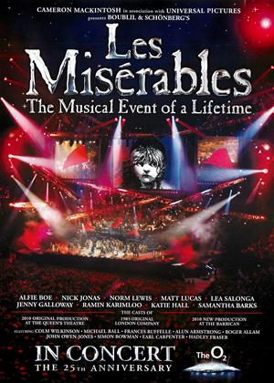 Rent Les Miserables in Concert: The 25th Anniversary Online DVD Rental