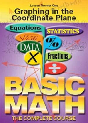 Rent Basic Maths: Graphing in the Coordinate Plane Online DVD Rental