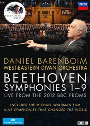 Rent Beethoven: Symphonies 1- 9 (Daniel Barenboim) Online DVD Rental