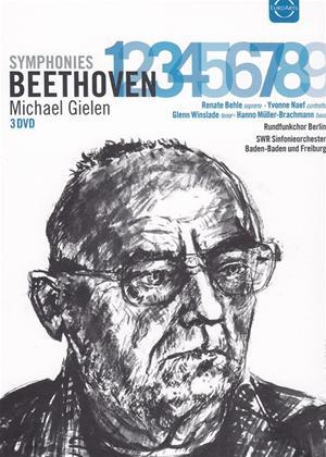 Rent Beethoven: Complete Symphonies 1-9 (Gielen) Online DVD Rental
