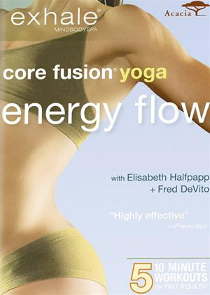 Rent Exhale: Core Fusion Yoga Energy Flow Online DVD Rental